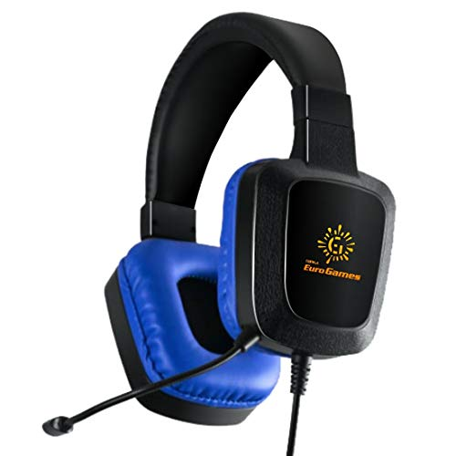 RPM Euro Games 3D Ultra Gaming Headphones with Flexible Mic...