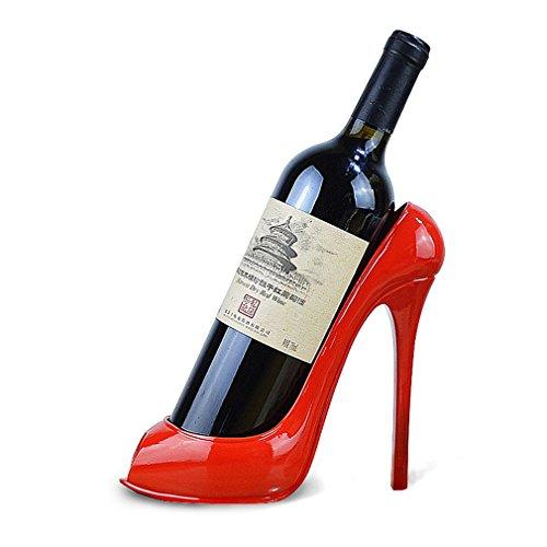 Weinregal High Heel Schuhform Weinflaschenhalter Stilvolle Accessoires für Home Decor (Größe: 22 * 9,5 * 19 cm) (Farbe : #1)