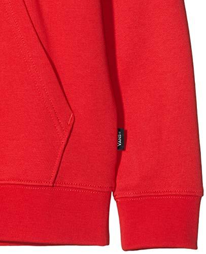 Vans Otw Pullover Fleece Boys Cappuccio, Rosso (Racing Red/White Outline Wv3), Medium Bambino