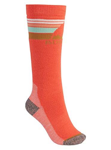 Burton Kinder Emblem Midweight Snowboard Socken, Hibiscus Pink, ML