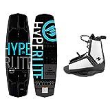 Hyperlite New 2021 Wakeboard Machete with Destroyer Wakeboard Bindings Fits Shoe Sizes 7-14! (144 cm)