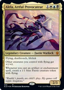 Magic: The Gathering - Alela, Artful Provocateur - Foil - Brawl Deck Exclusive - Throne of Eldraine