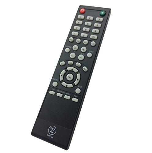 WESTINGHOUSE LD-4080 LD-4070Z VR6025Z, DWM48F1Y1 DWM32H1G1 DWM48F1Y1 DWM50F3G1 DWM40F3G1 RMT-24 TV REMOTE CONTROL