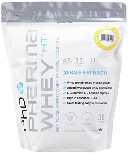 PHD Pharma Whey - Vanilla Creme, 1er Pack (1 x 908 g)