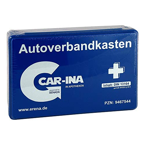 SENADA CAR-INA Autoverbandkasten blau 1 St