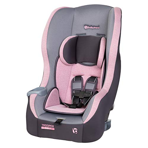 Baby Trend Trooper 3-in-1 Convertible Car Seat, Cassis Pink