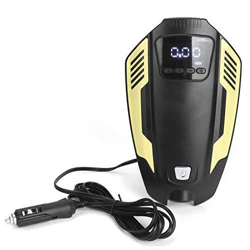Inflador automático del neumático de la bomba del compresor de aire del coche portátil con la iluminación LED de emergencia