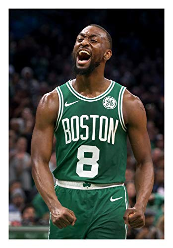 Fullfillment Posters Kemba Walker Poster Boston Celtics Glossy Print Photo Wall Art Limited Celebrity Sports Athlete NBA Basketball Sizes 8x10 11x17 16x20 22x28 24x36 27x40#1 (24x36 inches)