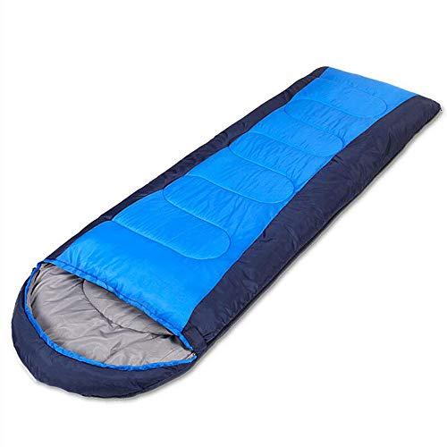 Jcnfa-sac de couchage Camping Simple en Plein Air Quatre Saisons Épaississement Chaud, Poids Multiples (Couleur : A, Taille : 1.8kg)