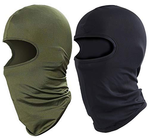 XINGZHE 2PCS Balaclava, Ski Full Face Mask, Windproof Head Mask Neck Gaiter Hot Weather Outdoor...