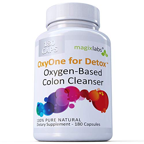 MagixLabs OxyOne for Detox – Powerful All Natural Oxygen-Based Colon Cleanser (Oxy Magnesium...