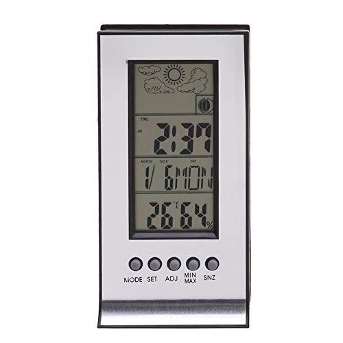 NOBRAND LYJJWDJ Profesional LCD termómetro Digital Sala de la casa termómetro higrómetro Temperatura y Humedad Interior