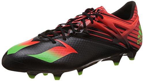 adidas Herren Messi 15.1 Fußballschuhe, Schwarz (Core Black/Solar Green/Solar Red), 45 1/3 EU