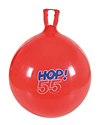 Gymnic hop ball to improve gross motor skills