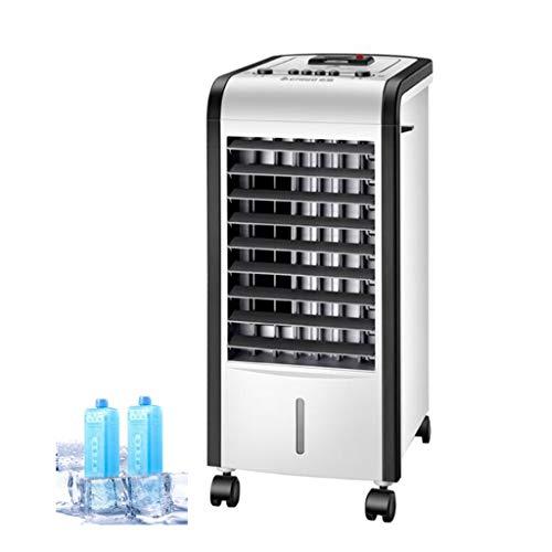 Ventilador de Aire Acondicionado de calefacción y refrigeración, Ventilador de refrigeración, Potencia de enfriamiento de 80 W, calefacción de 2000 W, Velocidad del Viento de Tres velocidades