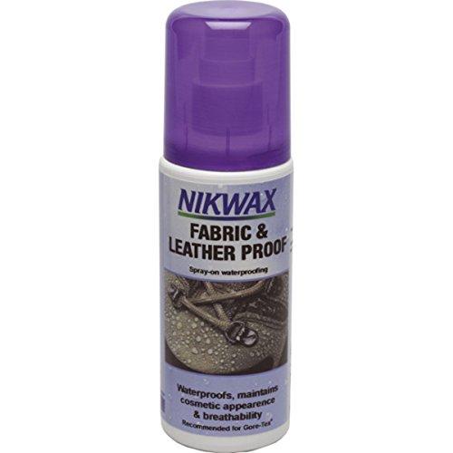 Nikwax Schuhpflegemittel Stoff und Leder Imprägnierung, transparent, 125 ml, 300160000