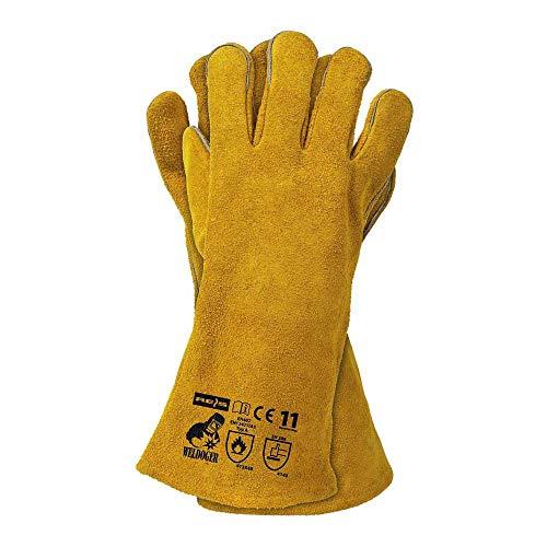 WELDOGER Weldoy beschermende handschoenen, geel, 11 maten, 12 stuks