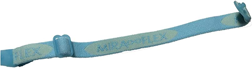 Miraflex Replacement Straps Eyeglasses Medium Adjustable Elastic (Light Blue)