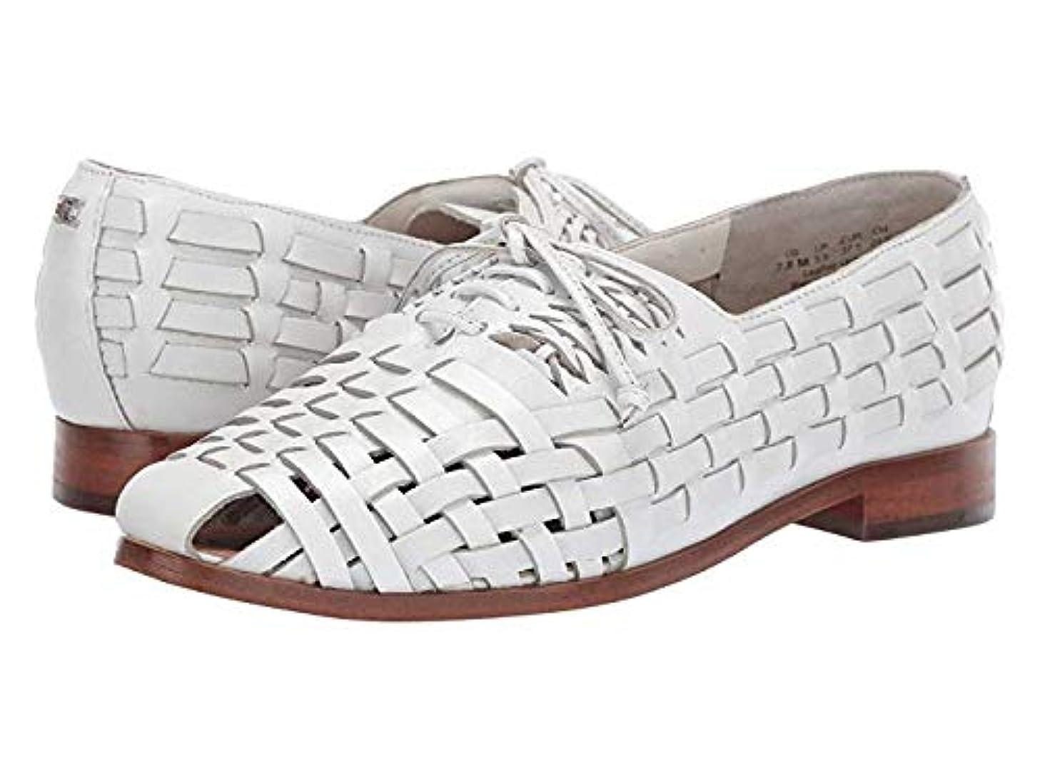 ジェスチャー哀に対処する[Sam Edelman(サムエデルマン)] レディースレースアップ?オックスフォード?靴 Rishel Bright White (26.5cm) M [並行輸入品]
