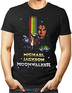 OF Moonwalker T Shirt Michael Jackson Smooth Criminal Gift Thriller Bad Man