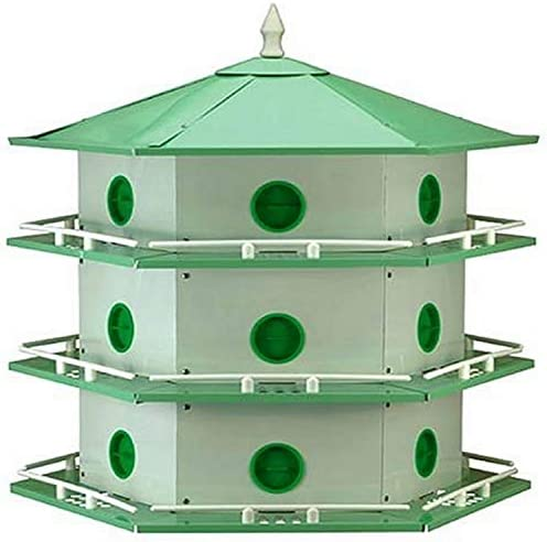 Heath Outdoor Products AH 18D 18 Room Aluminum Purple Martin House product image