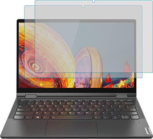 4ProTec I 2X Schutzfolie MATT passgenau für Lenovo Yoga C640 - Bildschirmschutzfolie Schutzhülle