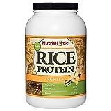 Best Jarrow Vegan Protein Powders - NutriBiotic – Vanilla Rice Protein, 3 Lb (1.36kg) Review