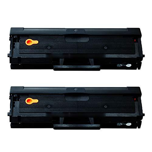 RRWW Cartucho de tóner MLT-104S de repuesto para impresoras Samsung ML-1666 1661 1660 1676 1861 SCX-3210 3218 3206, 1500 páginas por cartucho de tóner negro 2 negro