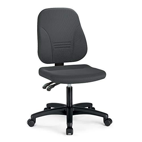prosedia® Younico Plus 3 – Top Bürostuhl/Schreibtischstuhl – sehr ergonomisch - Made in Germany - TÜV Rheinland geprüft und Zertifiziert (Ohne Armlehnen, Grau)