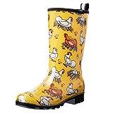 HISEA Women's Rain Boots Waterproof Garden Boot Mid...