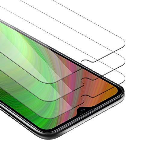 Cadorabo 3X Película Protectora Compatible con Xiaomi Mi 9 Lite en Transparencia ELEVADA - Paquete de 3 Vidrio Templado (Tempered) Cristal Antibalas Compatible 3D con Dureza 9H