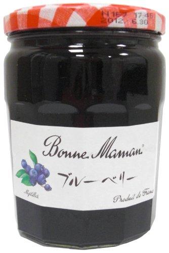 ボンヌママン ブルーベリージャム 750g