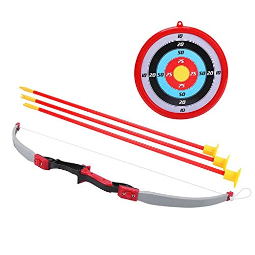 N/X Spielzeug für draußenToys Archery Bow and Arrow Target Paper Dart Board Toy Outdoor Fitness Plastic Gymnastics