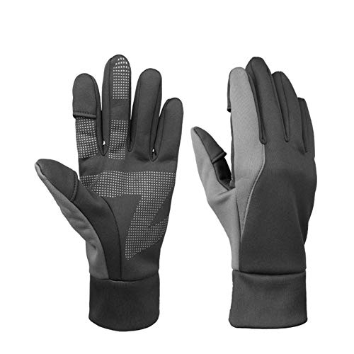 Winter im Freien windundurchlässigen Angeln Handschuhe Reitsport warmen wasserdichte Handschuhe Easy Off Finger Beleg Fotografie Handschuhe,L