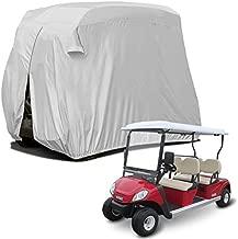 Sunnyglade 4 Passenger Waterproof Golf Cart Cover Roof 80