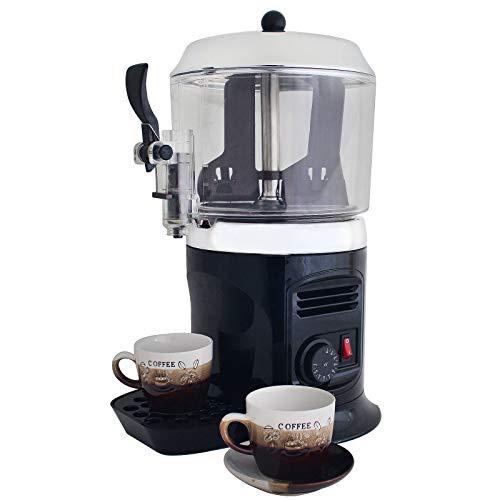 ZOYOL 5L Heiß Schokolade Hersteller Wärmer Schokolade Spender Maschine 30~90℃ Einstellbar Schmelzen Schokoladenfondue Sets zum Milch Kaffee Tee