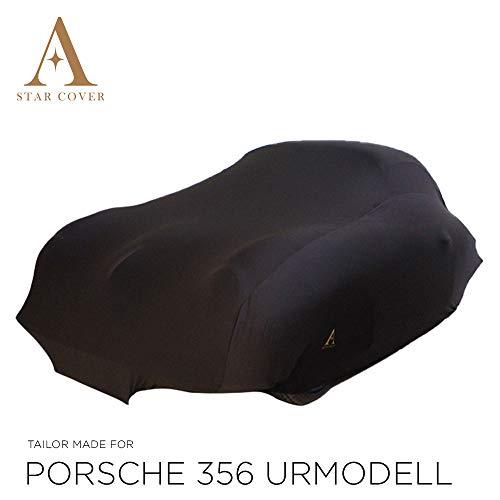 AUTOABDECKUNG SCHWARZ PASSEND FÜR Porsche 356 URMODELL INNEN SCHUTZHÜLLE ABDECKPLANE SCHUTZDECKE VOLLGARAGE Cover
