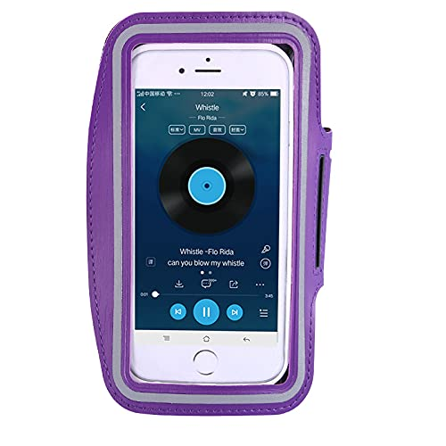 QIANJINGCQ Bolsa de brazo para deportes al aire libre, brazalete para teléfono móvil, bolsa de muñeca para correr, adecuada para todo tipo de teléfonos móviles de 4 a 6 pulgadas