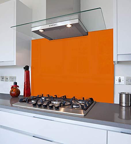 Tablero de cristal templado resistente al calor de color (llama marroquí, 40 x 30 cm, tabla de cortar)