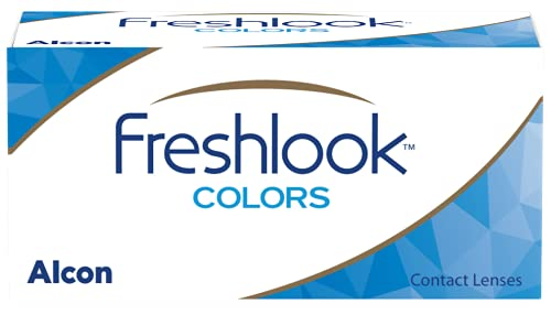Alcon FreshLook Colors Misty Gray Monatslinsen weich, 2 Stück / BC 8.6 mm / DIA 14.5 / 0 Dioptrien