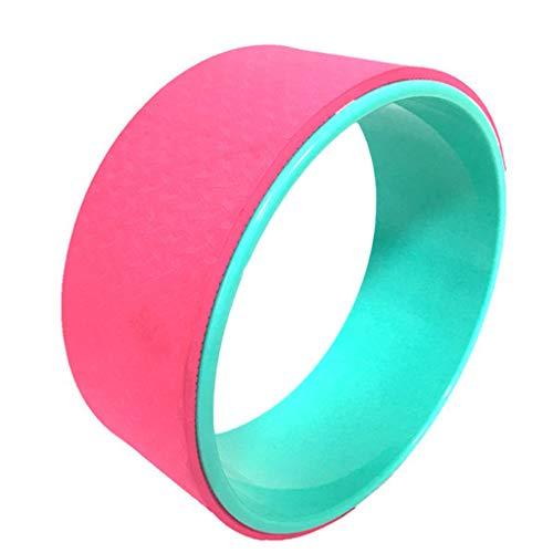 KSER Yoga Massage Roller Yoga Trage mit Yoga Ziegel 4-teiliges Set rosa Sportgerät Für Zuhause Fitness Kinder stretchband Sport Springseil Fitness yogamatte faltbar springseil mit zähler