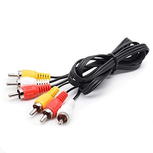 3FT RCA M/Mx3 Audio/Video Cable,...