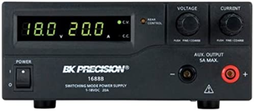 B&K Precision 1688B Switching Bench DC Power Supplies, 1-18V, 20A