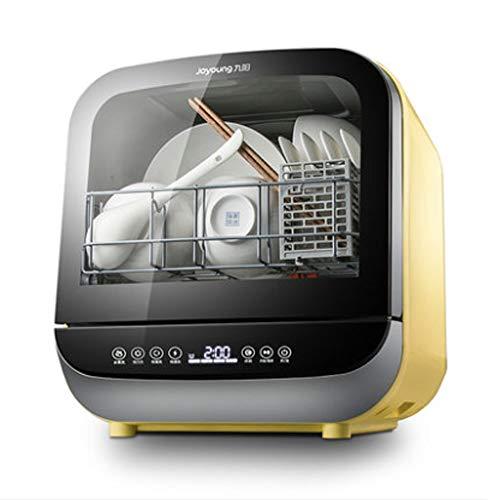 SKREOJF Mini lavavajillas portátil sin instalación, hogar automático, pequeño lavavajillas Inteligente de Escritorio