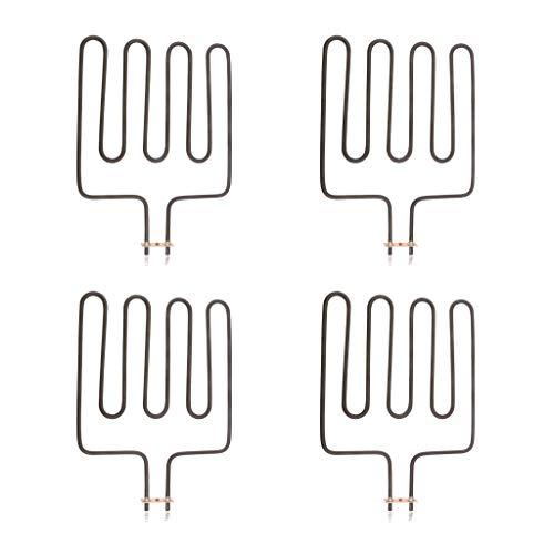 joyMerit 4X Elemento Calefactor para Sauna, SPA, SPA, Jacuzzi, Calentador, SPA, Elementos, 2000w