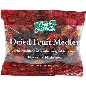 Fresh Gourmet Dried Fruit of 120 New York Mall box Medley Gorgeous