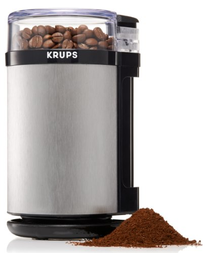 KRUPS GX4100 Electric Spice Herbs and Coffee Grinder with...