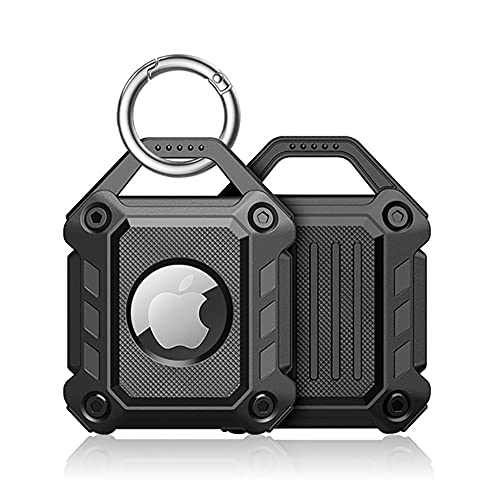 Sichy Case Compatible with Apple AirTags Case Keychain Air tag Holder Air Tag Key Ring Cases Air Tags Protective Cover Airtag Key Chain Loop Holders TPU for Luggage Dog Cat Pet Collar