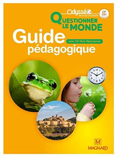 Odysséo Questionner le monde CP-CE1 (2018) - Banque de ressources sur CD-Rom avec guide pédagogique papier (2018)