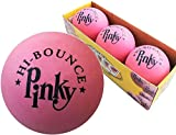 Premium Rubber Ball | 3 Balls PACK | Pinky Bouncy Ball | Colorful Gift Box and Balls Combo | Party Gift Supplies | 100% Solid Rubber High Bounce Pink Ball | Wall Ball For Kids | Bounciest Ball Games